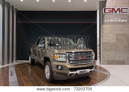 2015 Gmc Canyon At The Orange County International Auto Show