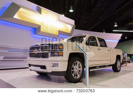 2015 Chevrolet Silverado High Country 4Wd Crew At The Orange County International Auto Show