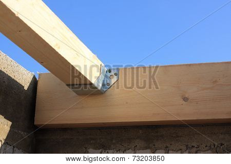 Detail of the truss joints