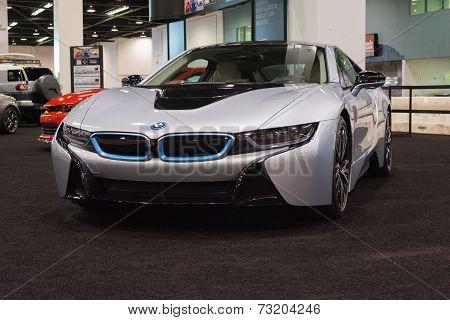 Bmw I8 At The Orange County International Auto Show