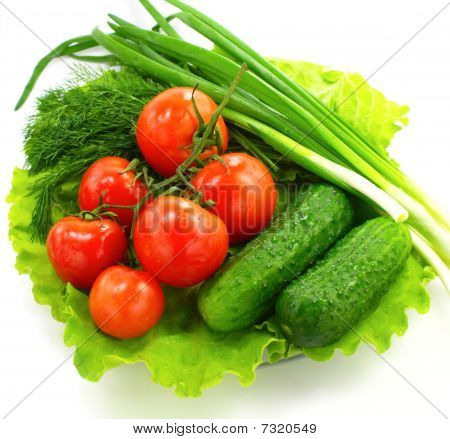 Fresh vegetable