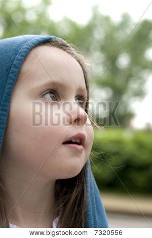 Young Girl In Awe