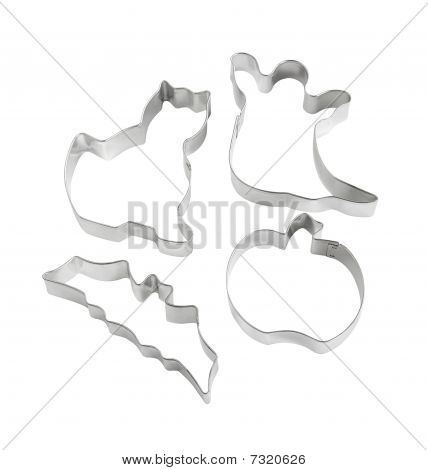 Halloween-themed Cookie Cutters