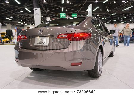 2015 Acura Ilx 2,0L Tech At The Orange County International Auto Show
