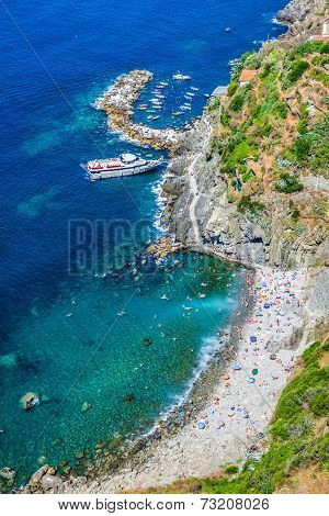 Riomaggiore Coast, Cinque Terre, Italy
