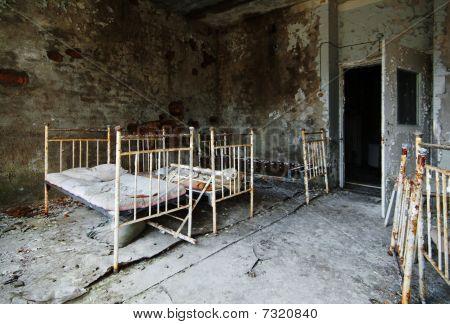 Chernobyl Hospital - Bed Room