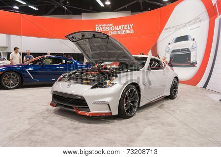 2015 Nissan 2015 Nissan 370Z Nismo At The Orange County International Auto Show