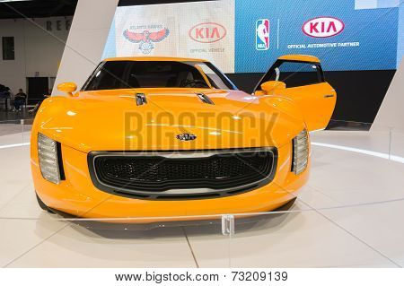 2015 Kia Gt4 Stinger At The Orange County International Auto Show