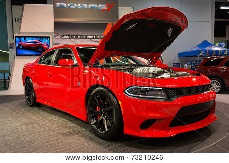 2015 Dodge 2015 Dodge Challenger Srt At The Orange County International Auto Show