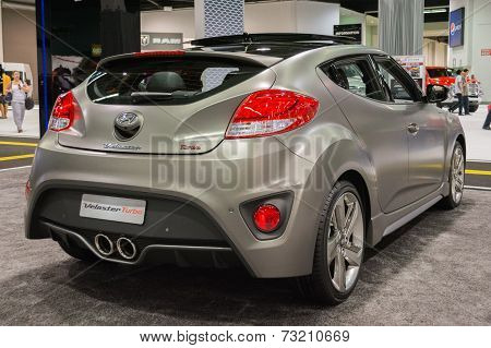 2015 Hyundai Veloster Turbo At The Orange County International Auto Show