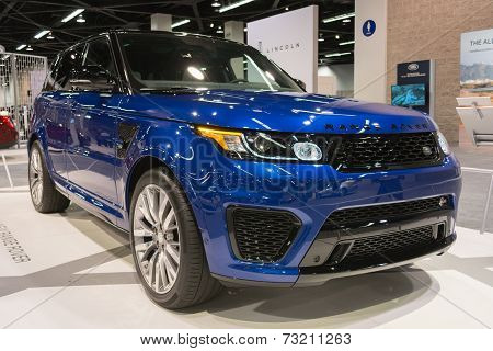 2015 Range Rover SVR at the Orange County International Auto Show