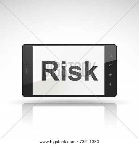 Risk Word On Mobile Phone