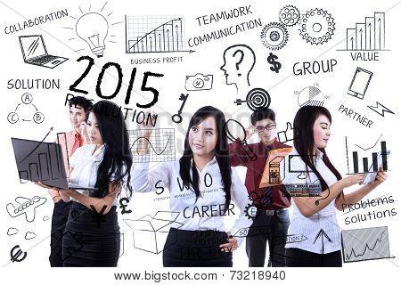 Entrepreneurs Finding Idea For Resolutions