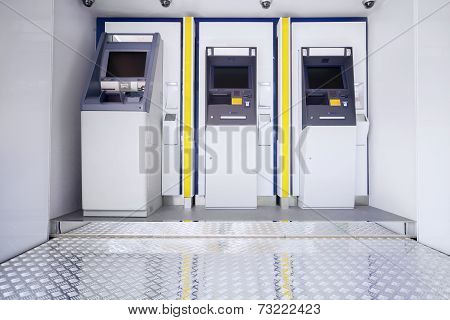 Three Atm Machines