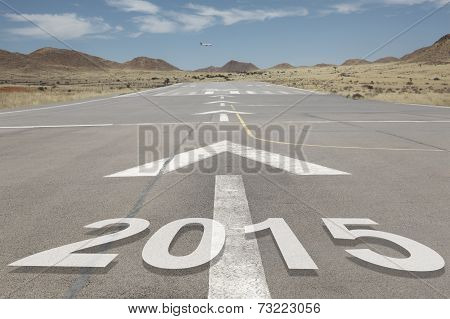 Airport Runway Mountains 2015