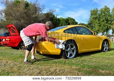 Polishing the Porsche