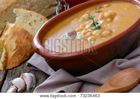 Beans Soup In Bowl