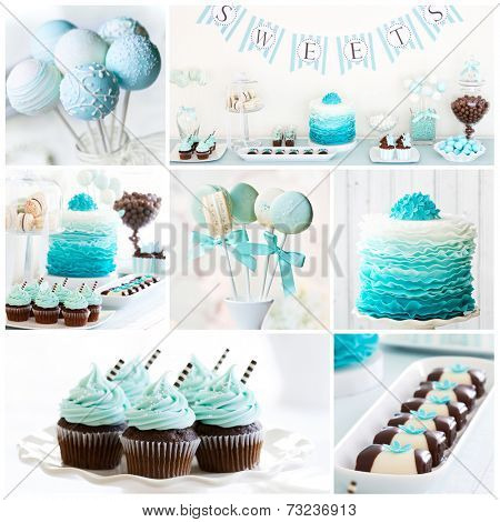 Collection of dessert table images