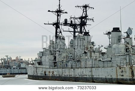 Old U.S. Navy Frigate