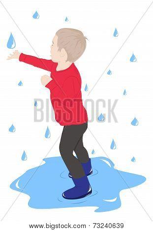 The Child In The Rain