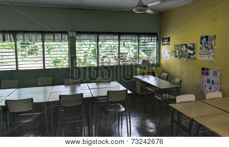 Rural School In The Dominican Republic