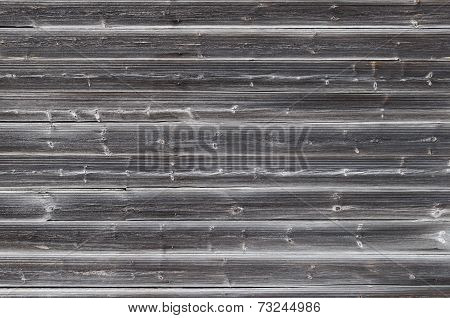 Old Gray Wooden Wall Background