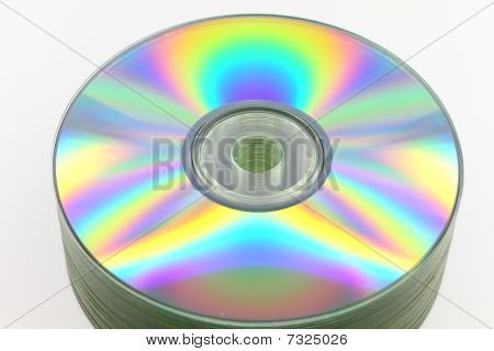 Stack Of Compact Disks