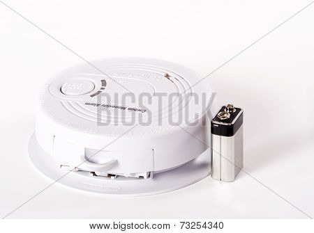 Carbon Monoxide Alarm With Battery