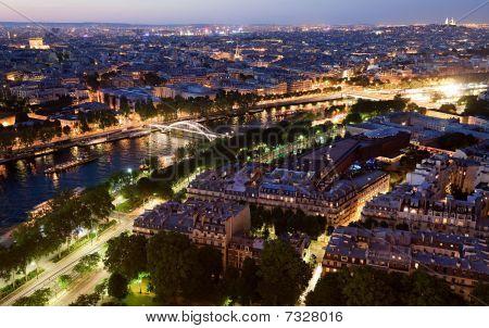 Paris Panorama From Eiffel Tower