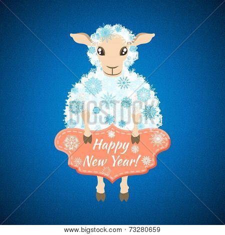 background with sheep