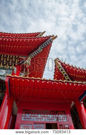 Wen We Temple, A Chinese Temple In Taiwan