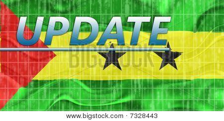 Flag Of Sao Tome And Principe Wavy News