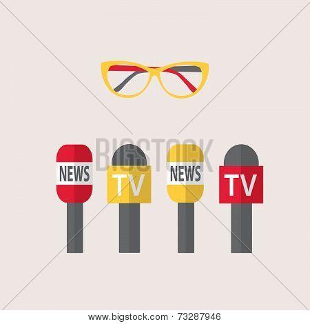 Vector Illustration - Journalism