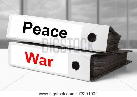 Office Binders Peace War