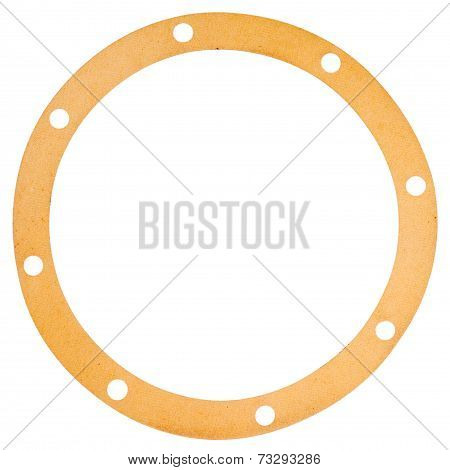 Old Circle Shape Paper Gasket