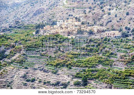 Oman Saiq Plateau