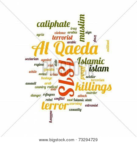 Isis word cloud