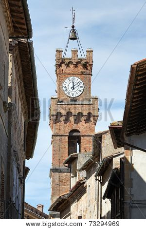 Tower City Hall Pienza