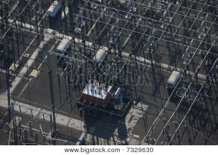 Power plant aerial