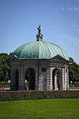 foto of munich residence  - Dianatempel in Hofgarten park in Munich - JPG