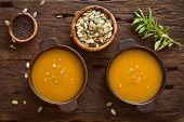 pic of vegetable soup  - Pumpkin soup - JPG