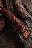stock photo of sausage  - Sausage - JPG