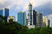 stock photo of klcc  - View of the Kuala Lumpur City Centre - JPG