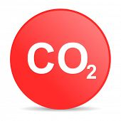 picture of carbon-dioxide  - carbon dioxide web icon - JPG