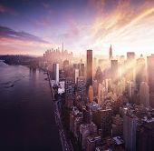 pic of empire state building  - New York City  - JPG