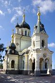 foto of tabernacle  - Foros Church of the Resurrection in the Crimea - JPG