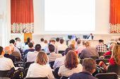 stock photo of entrepreneurship  - Business Conference and Presentation - JPG