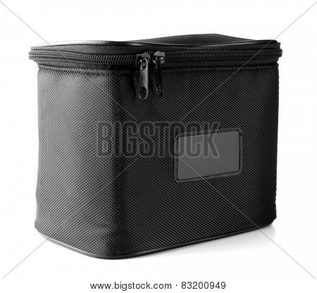 Camera case isolated on white