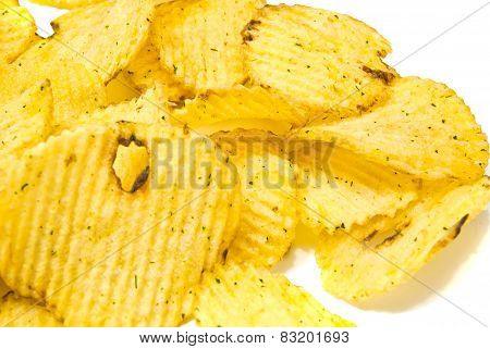 Many Corrugated Chips