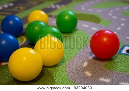 Colorful Balls Diag